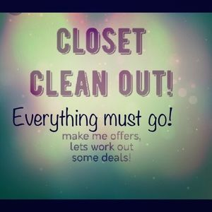 Other - Cleaning closet for my fall collection!!